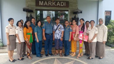 Photo of Kunjungan Dinas Kesehatan Kota Denpasar Ke Balai Kesehatan Mako Lanal Denpasar