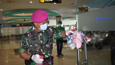 Photo of Sinergisitas TNI-POLRI, Bersama Pelindo III Surabaya, Antisipasi Corona Dengan Bebersih Pelabuhan Terminal Penumpang Pelindo III
