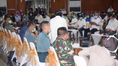 Photo of Wadan Lantamal V Hadiri Rapat Koordinasi Penanganan Covid -19