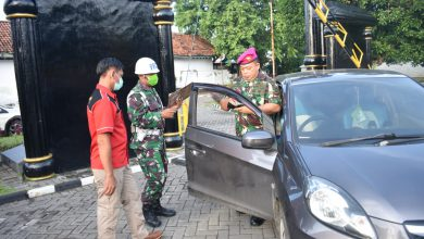 Photo of Cegah Covid 19, Prajurit Yonmarhanlan V Diwajibkan Ukur Suhu Tubuh