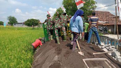 Photo of TMMD Ke107 Kodim 0817/Gresik Bhakti Kepada Ibu Pertiwi