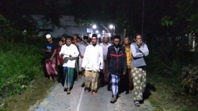 Photo of Gresik Zona Merah, Sholawat Li Khomsatun berkumandang di Berbagai Penjuru Kampung