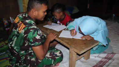 Photo of Bimbingan Belajar Satgas TMMD Edukasi Penerus Bangsa