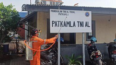 Photo of Lanal Tegal Laksanakan Penyemprotan Desinfektan Secara Berkala