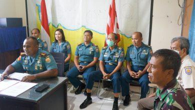 Photo of Danlanal Tegal Bersama Perwira Staff Mengikuti Vidio Teleconference dengan Danlantamal V
