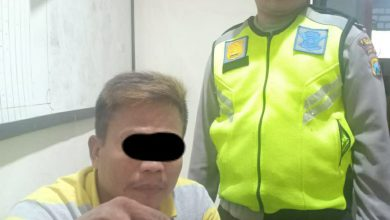 Photo of Unit Reskrim Polsek Benjeng Borgol Seorang Sopir Pengguna Sabu-Sabu