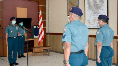 Photo of Danlanal Semarang terima Laporan Korps Kenaikan Pangkat 12 Personel
