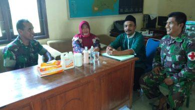 Photo of Satgas Kesehatan TMMD Kodim 0817/Gresik Bersama TIM Dari Kecamatan Pantau Penanganan Covid – 19