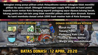 Photo of Galang Donasi, AMS Akan Bagi Bagi 1000 Masker Bagi Masyarakat