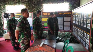 Photo of Kapendam V/Brawijaya Tinjau Sasaran TMMD Kodim 0817 Gresik Di Desa Sirnoboyo