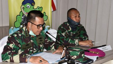 Photo of Aspotmar Danlantamal V Gelar Vircon Bersama Dispotmar Mabesal
