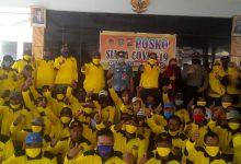 Photo of Kolaborasi Partai Golkar Kuningkan Desa Sumberejo Perangi Covid-19