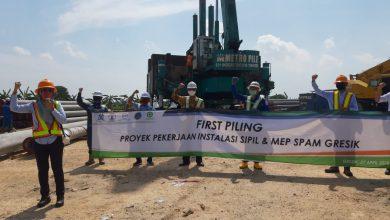 Photo of PDAM Gresik Kebut SPAM BGS, Targetkan Awal 2021Air Mengalir