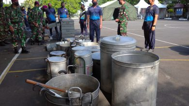 Photo of Antisipasi Dampak Wabah Covid-19 Lantamal Siapkan Dapur Lapangan