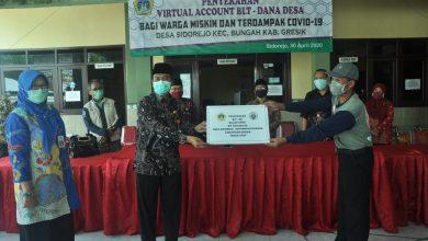 Photo of Pemkab Gresik Cairkan BLT-DD Bulan April Rp. 600 ribu di 4 Desa