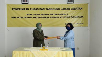 """Photo of Jabatan Wakil Ketua Dharma Pertiwi Daerah """"j"""" Diserah Terimakan"""