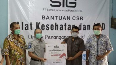 Photo of SIG bersama Satgas Bencana Nasional BUMN Wilayah Jawa Tengah  Serahkan Bantuan Alkes dan APD