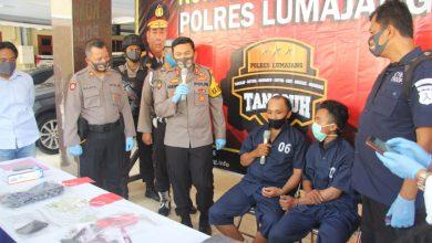 Photo of Tersangka Curanmor Di hadiahi Tima Panas oleh Tim Cobra Polres Lumajang