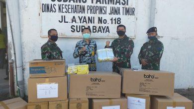 Photo of Diskes Lantamal V Terima APD Program Faskes Non Rujukan Covid -19 Dari Diskes Provinsi Jatim