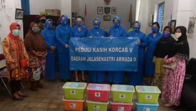 Photo of Korcab V Daerah Jalasenastri Koarmada II Peduli Kasih Dampak Covid -19