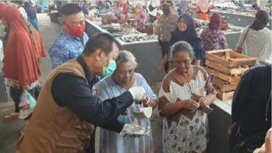 Photo of Pasar Kronong Jadi Sasaran Sosialisasi Cegah Covid -19