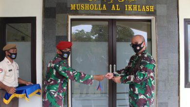 Photo of Danlanal Cilacap Resmikan Musholla AL- IKHLASH