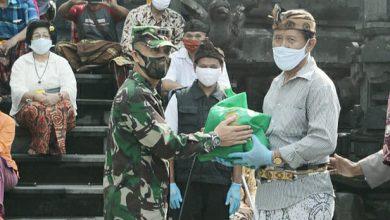 Photo of Danlanal Semarang Turut Serta Gerakan Bhakti Sosial TNI Polri Peduli Covid – 19