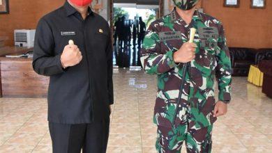 Photo of Danlanal Denpasar Sowan Ke Bupati Buleleng