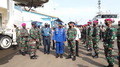 Photo of Prajurit Petarung Yonmarhanlan V Ikuti Apel Gelar Pasukan Pengamanan Angkatan Laut Covid -19