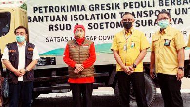Photo of Bantu Masyarakat Jelang Lebaran  Petrokimia Gresik Serahkan Bantuan 12 Ribu Paket Beras melalui Pemprov Jatim