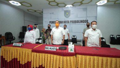 Photo of Pemkot Probolinggo Ikuti Upacara Harlah Pancasila Secara Virtual