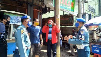 Photo of Polisi Militer Lantamal V Ikut Aktif Dalam Pendisiplinan Masyarakat Surabaya Putus Mata Rantai Penularan Covid – 19