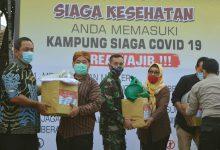 Photo of Danlanal Semarang Bersama Forkopimda Tinjau Kampung Siaga Covid – 19 Di Kota Semarang