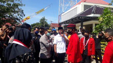 Photo of Kinerja Polres Sampang Di Sorot GMNI Turun Jalan