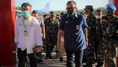 Photo of Bersama Forkopimda Danlanal Cilacap Sambut Kedatangan Menteri Pertanian