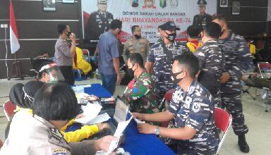Photo of Jalin Sinergitas, Personel Lanal Cilacap Sumbangkan Darahnya