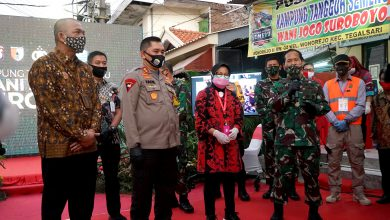 Photo of Ribuan Kampung Tangguh Terbentuk, Pangdam V Brawijaya Puji Wali Kota Risma