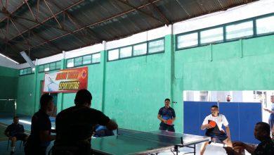 Photo of Yonmarhanlan V Gelar Lomba Tenis Meja Antar Kompi tahun 2020.