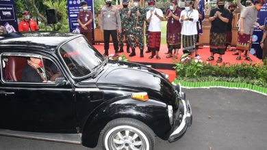 Photo of Danlanal Denpasar Dampingi Gubernur Bali Lepas Kegiatan Road To Penerapan Tata Kehidupan Era BaruDi Propinsi Bali