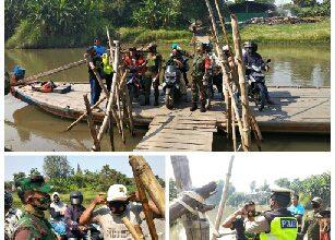 Photo of Polsek dan Koramil Wringinanom Bersatu Bagikan Masker Bantuan TNI Dan Polri Untuk Rakyat