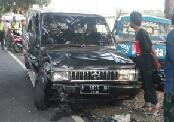 Photo of Laka Krambol Di Jalan Raya Torjun Satu Orang Patah Kaki