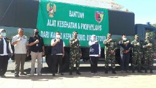 Photo of RSUD dr. Soetomo Dapatkan Bantuan Matkes dan Prophylaxis dari KASAD TNI
