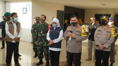 Photo of Dandim 0817/Gresik Mendampingi Kunjungan Kerja Forpimda Jatim Dalam Rangka Peninjauan Kesiapan Pondok Rehabilitasi dan Observasi Pasien Covid-19.