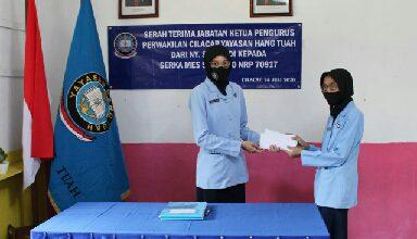 Photo of Jabatan Ketua Yayasan Hang Tuah XX Cilacap Diserah Terimakan