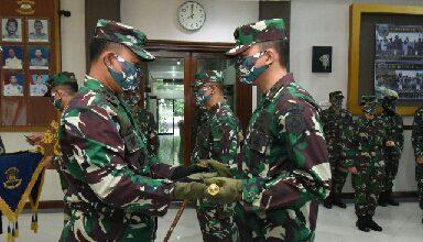 Photo of Danmen AAL Pimpin Sertijab Komandan Batalyon 3 Resimen AAL