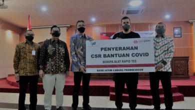 Photo of Direktur Bank Jatim Cabang Probolinggo Berikan Bantuan 200 Juta Ke Pemkot Probolinggo