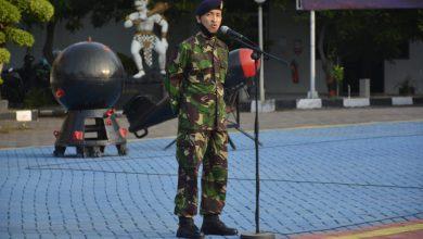 Photo of Danlanal Semarang Pimpinan Apel Khusus