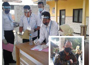 Photo of Lima Calon Perangkat Ikuti Test Yang dilaksanakan oleh P3D Banjaragung