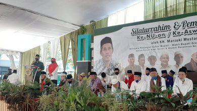 Photo of Deklarasi Dukung Pasangan Niat oleh Forum Kyai, Santri dan Alumni Pesantren Se-Kabupaten Gresik