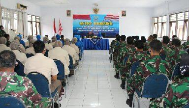 Photo of Awali Tugas, Danlanal Yogyakarta Laksanakan Entry Briefing